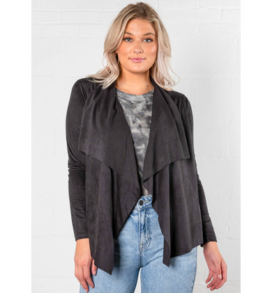 VALENTINA WATERFALL CARDIGAN