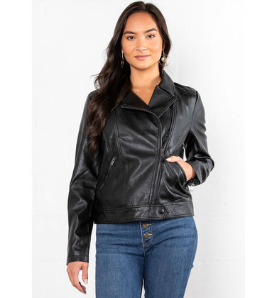 WALK OF FAME LEATHER JACKET