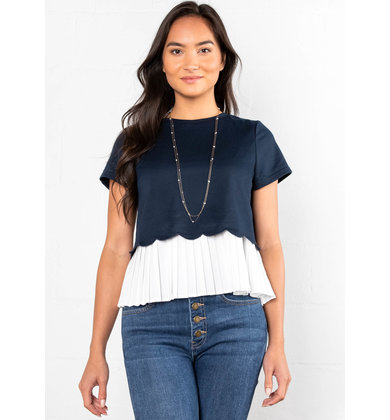 CLASSIC STATEMENT LAYERED TOP