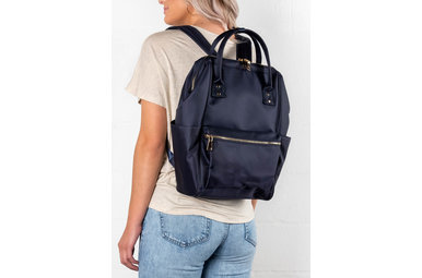 PRINCETON NAVY BACKPACK