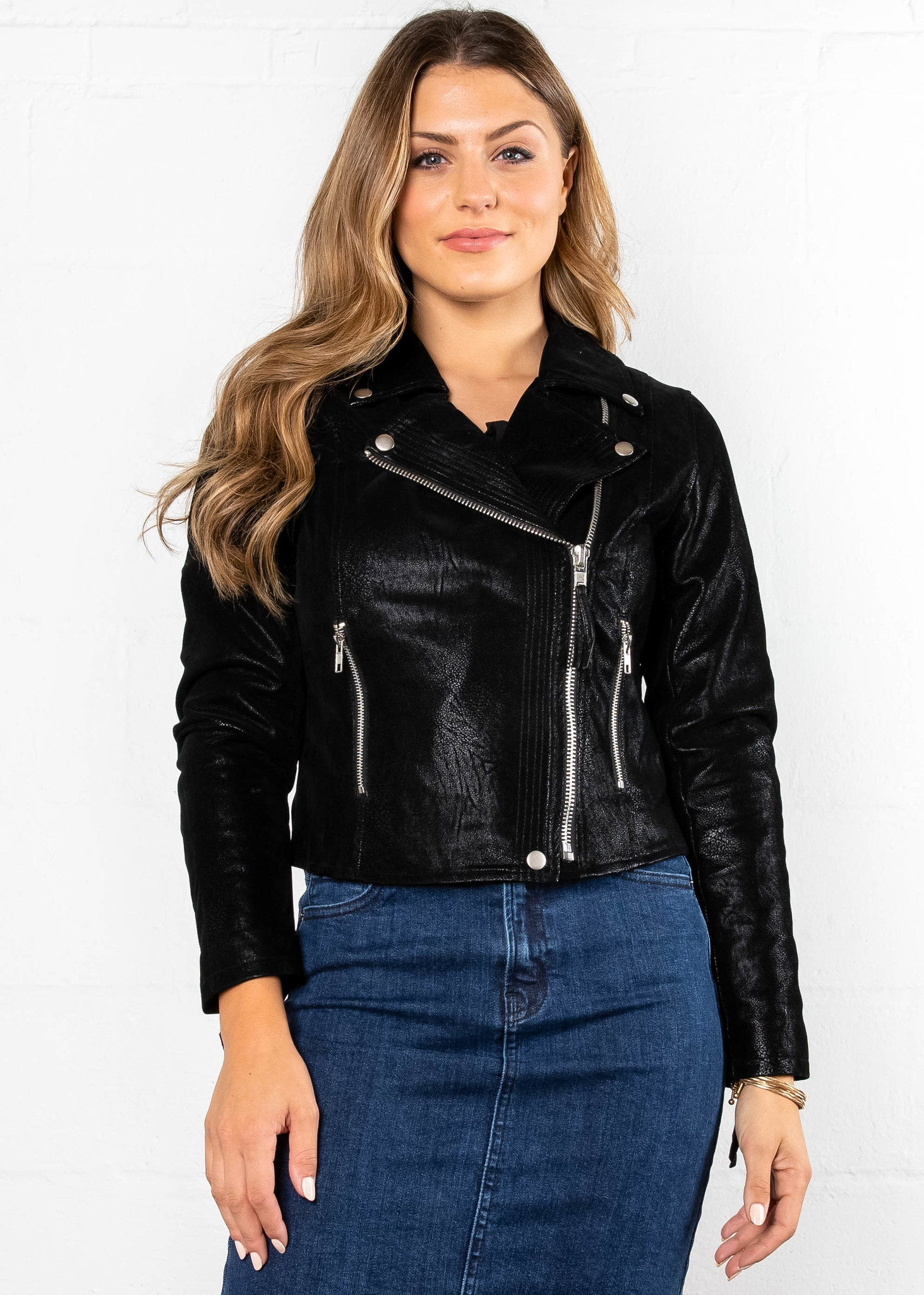 DOUBLE TAKE MOTO JACKET