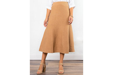 BEST DRESSED KNIT MIDI SKIRT