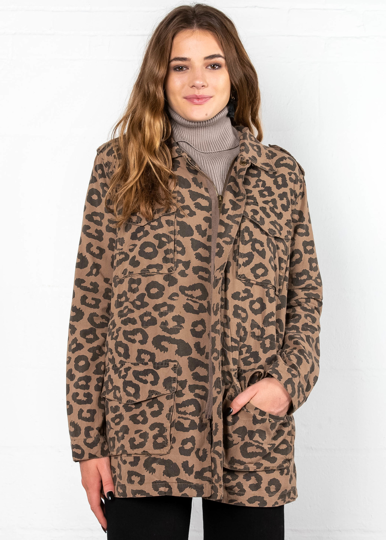 SMOOTH MOVE LEOPARD JACKET