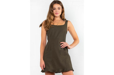 NEXT GENERATION OLIVE DRESS