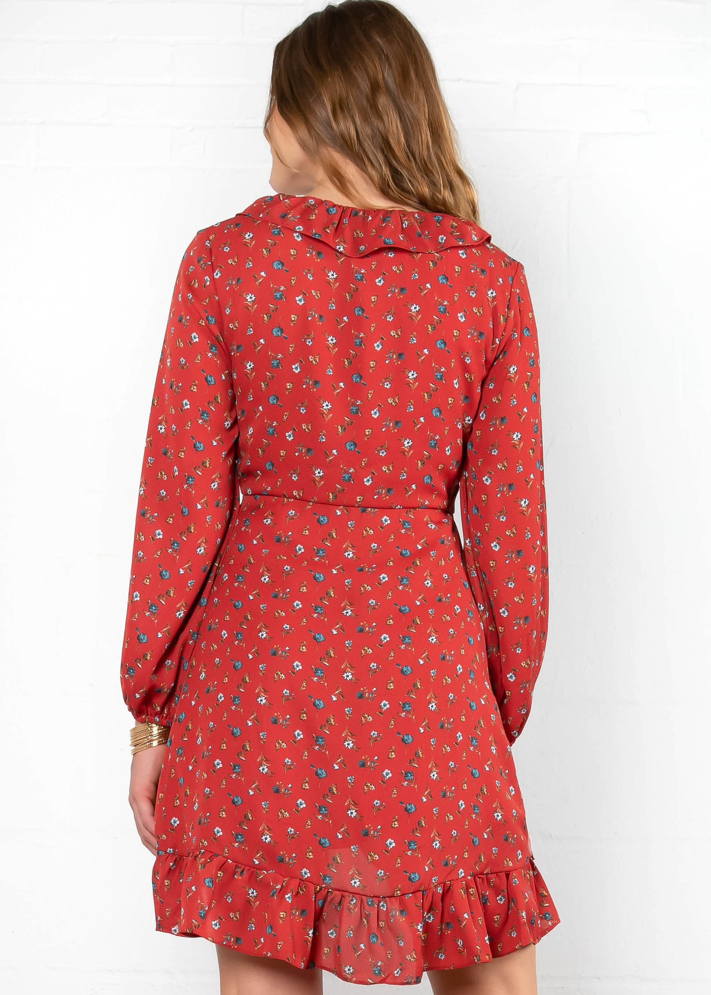 WEST VILLAGE FLORAL DRESS
