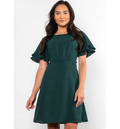 HUTTON SHORT SLEEVE DRESS