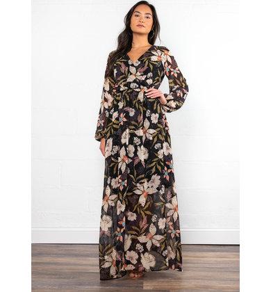 VANESSA FLORAL MAXI DRESS