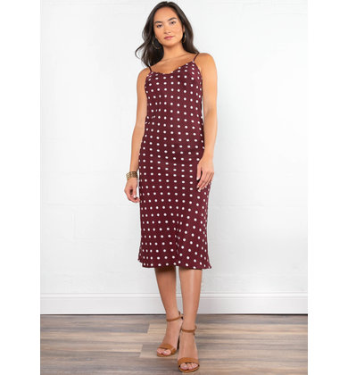 DATE NIGHT POLKA DOT DRESS