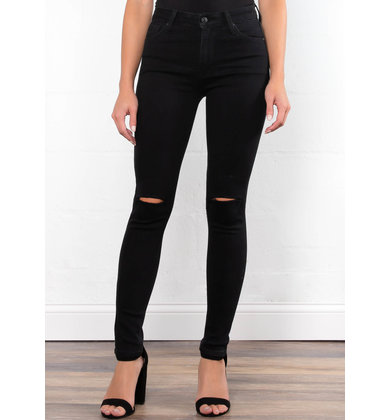 STREAMLINE BLACK SKINNY JEANS