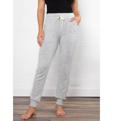 LOW KEY COMFY JOGGERS - GREY