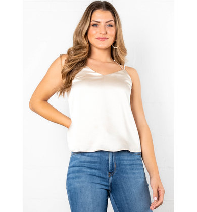 EVENING OUT LACE TANK TOP