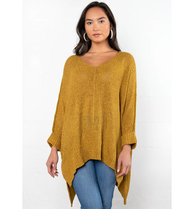 FALLIN' FOR YOU KNIT SWEATER