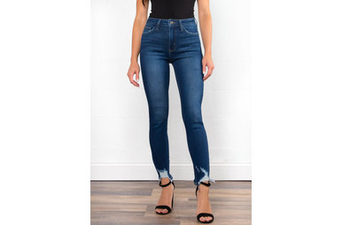 FRONT RUNNER DISTRESSED JEANS
