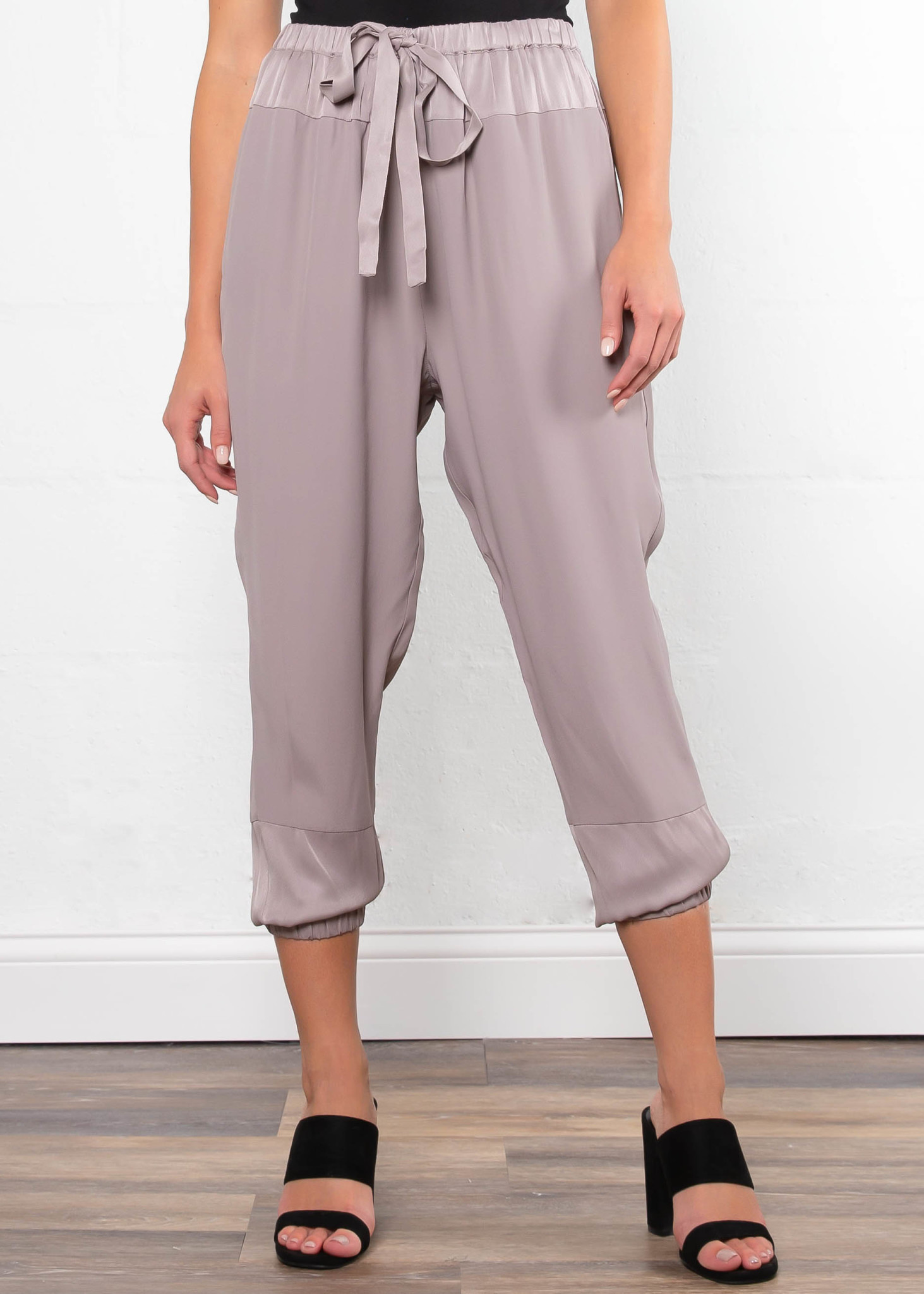 DAY BREAK SATIN JOGGERS