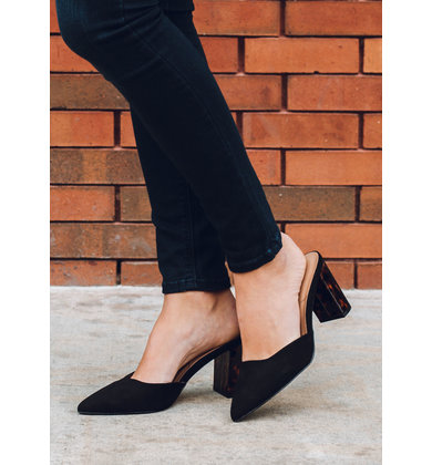 CITY STREETS HEELED MULES