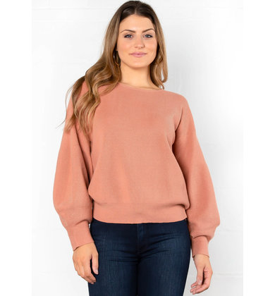 CLOSET STAPLE SWEATER - BLUSH