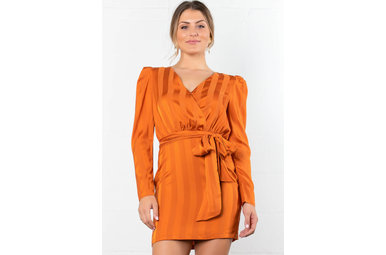 NIGHT OUT LONG SLEEVE DRESS