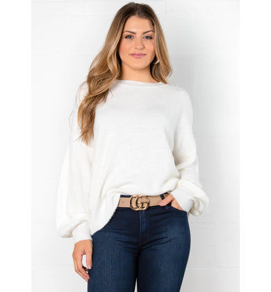 SWEET TALK SWEATER - IVORY
