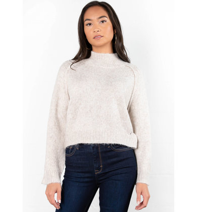 GATHER TOGETHER CROPPED SWEATER