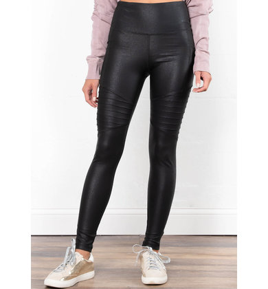 UNDER COVER LEATHER LEGGINGS