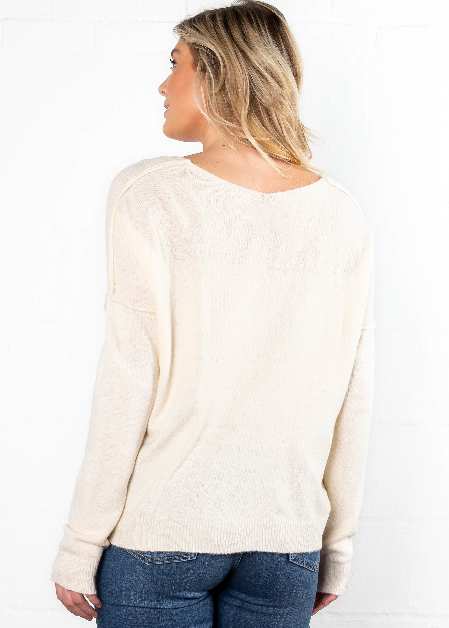OUR SONG CARDIGAN - CREAM