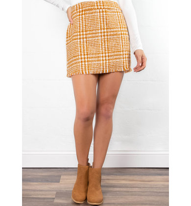 SUGAR + SPICE MINI SKIRT