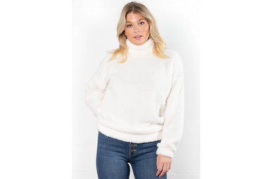 SAY WHEN COZY SWEATER - IVORY