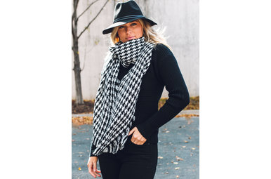 VIEWPOINT PRINTED SCARF