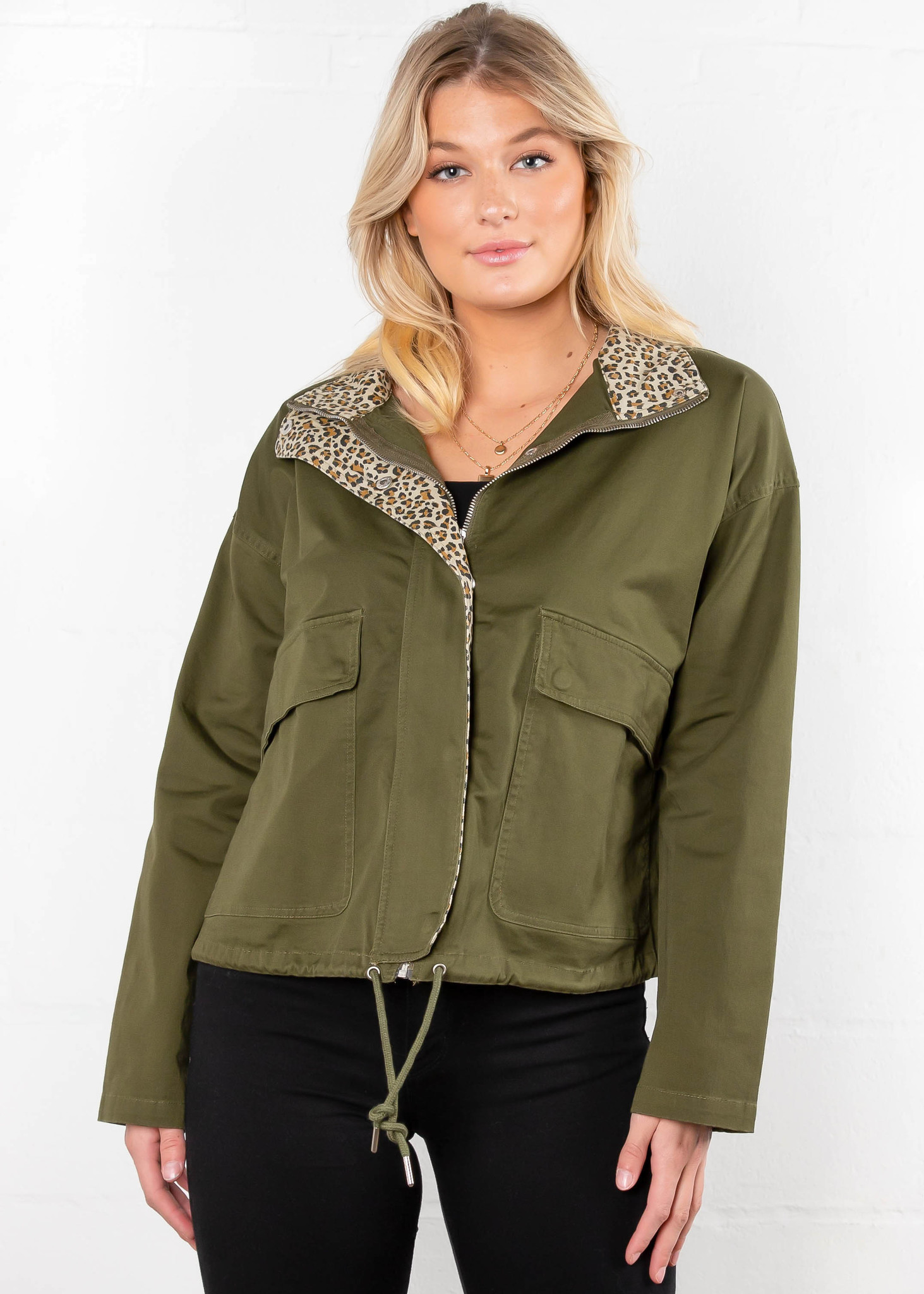 PARK AVENUE CROPPED JACKET