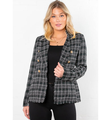 NEW YORK THRILLS TWEED BLAZER