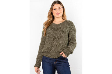 EVEREST POPCORN KNIT SWEATER