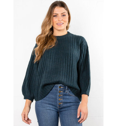 ENCHANTMENT RIBBED SWEATER