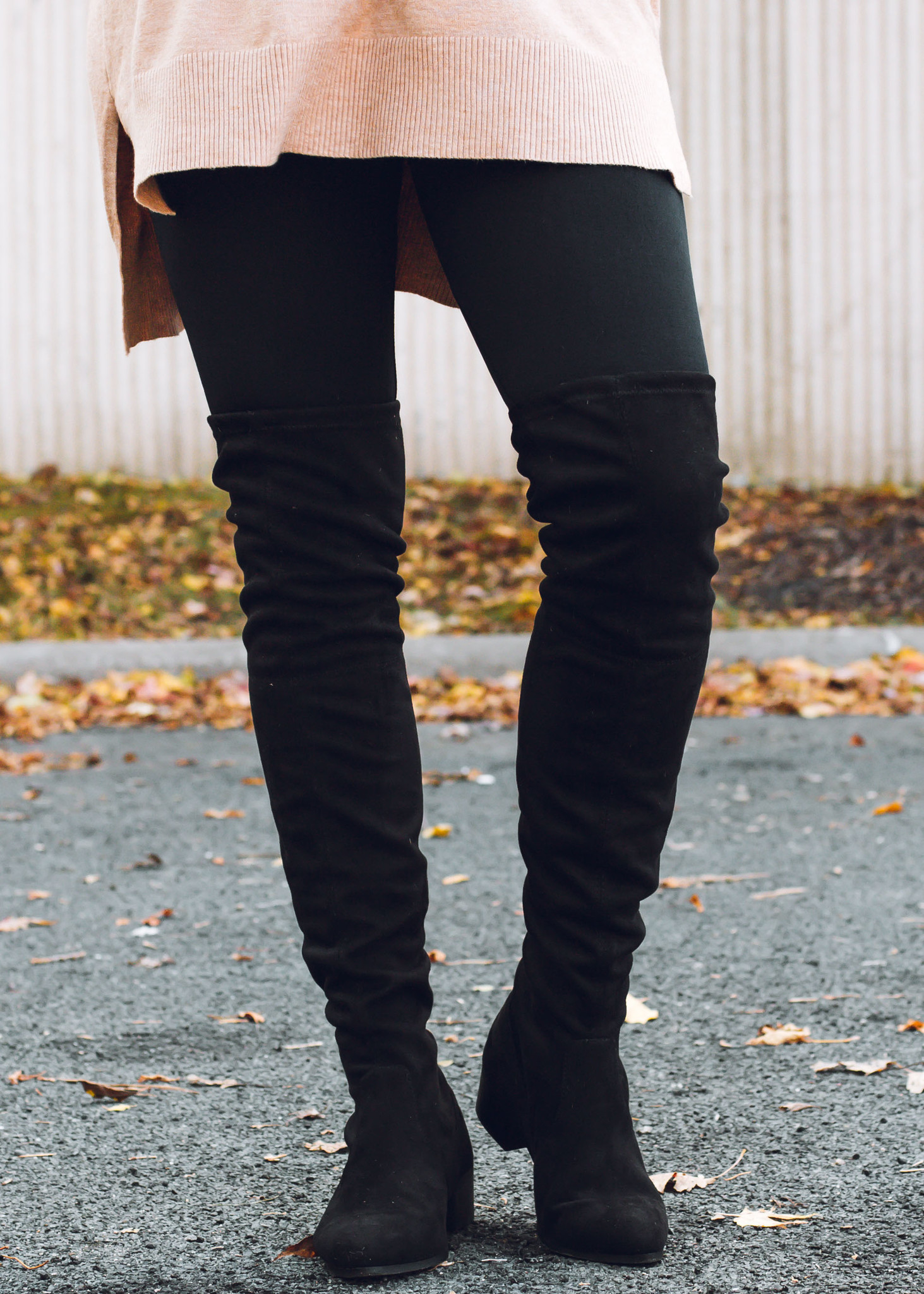 UPGRADE OVER THE KNEE BOOTS