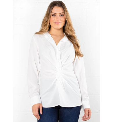 EARLY MORNING FRONT TWIST BLOUSE