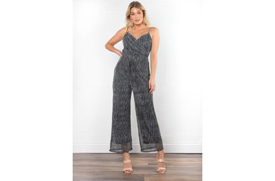 BLOWING KISSES JUMPSUIT