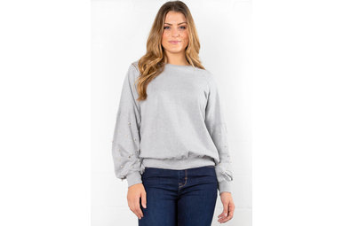 NEED YOUR LOVE PEARL SWEATER