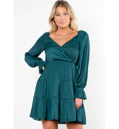 LAST DANCE LONG SLEEVE DRESS