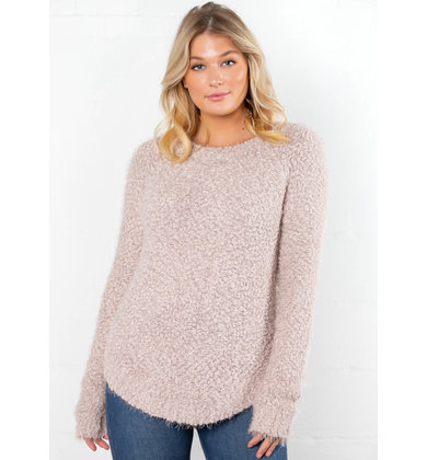 FALL FESTIVITIES BLUSH SWEATER