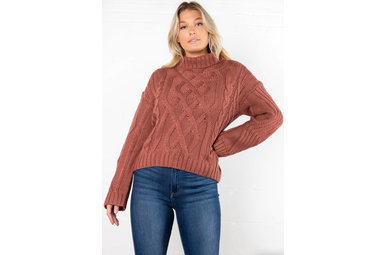 BIG PICTURE TURTLENECK SWEATER