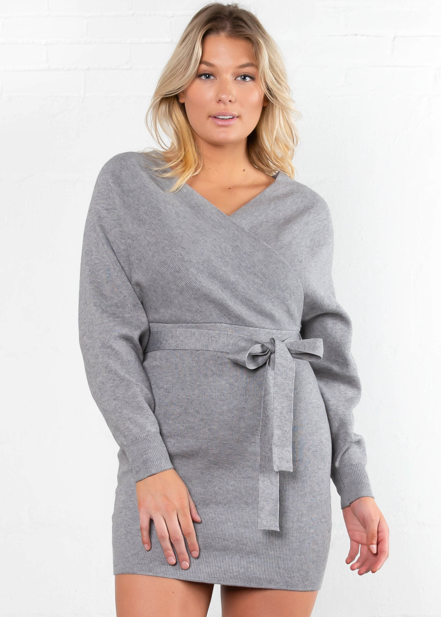 PLANS TONIGHT SWEATER DRESS