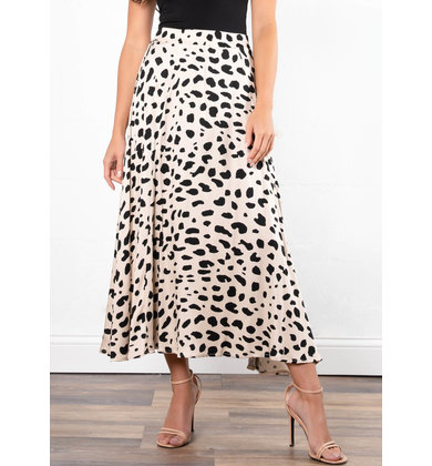 BRUNCH WITH ME MIDI SKIRT
