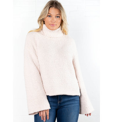 IRIS SUPER SOFT SWEATER - CREAM