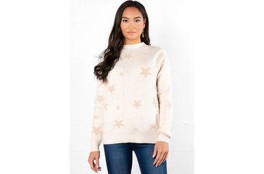 JUST FOR FUN PRINTED SWEATER