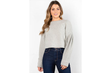 SNOWBALL EFFECT SWEATER