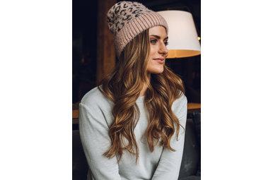 TOP SPOT WINTER HAT - PINK