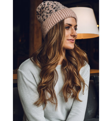 TOP SPOT WINTER HAT - PINK