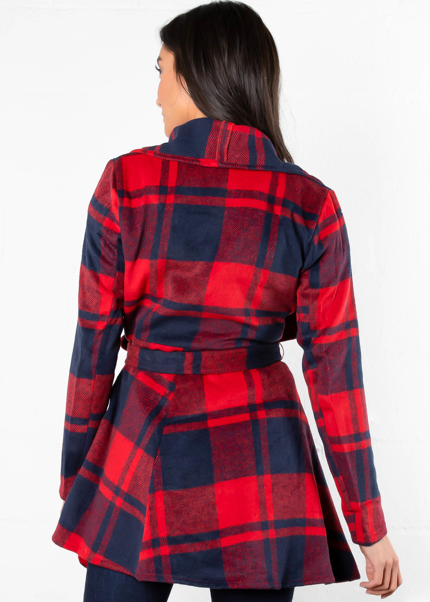GOOD TIDDINGS PLAID JACKET