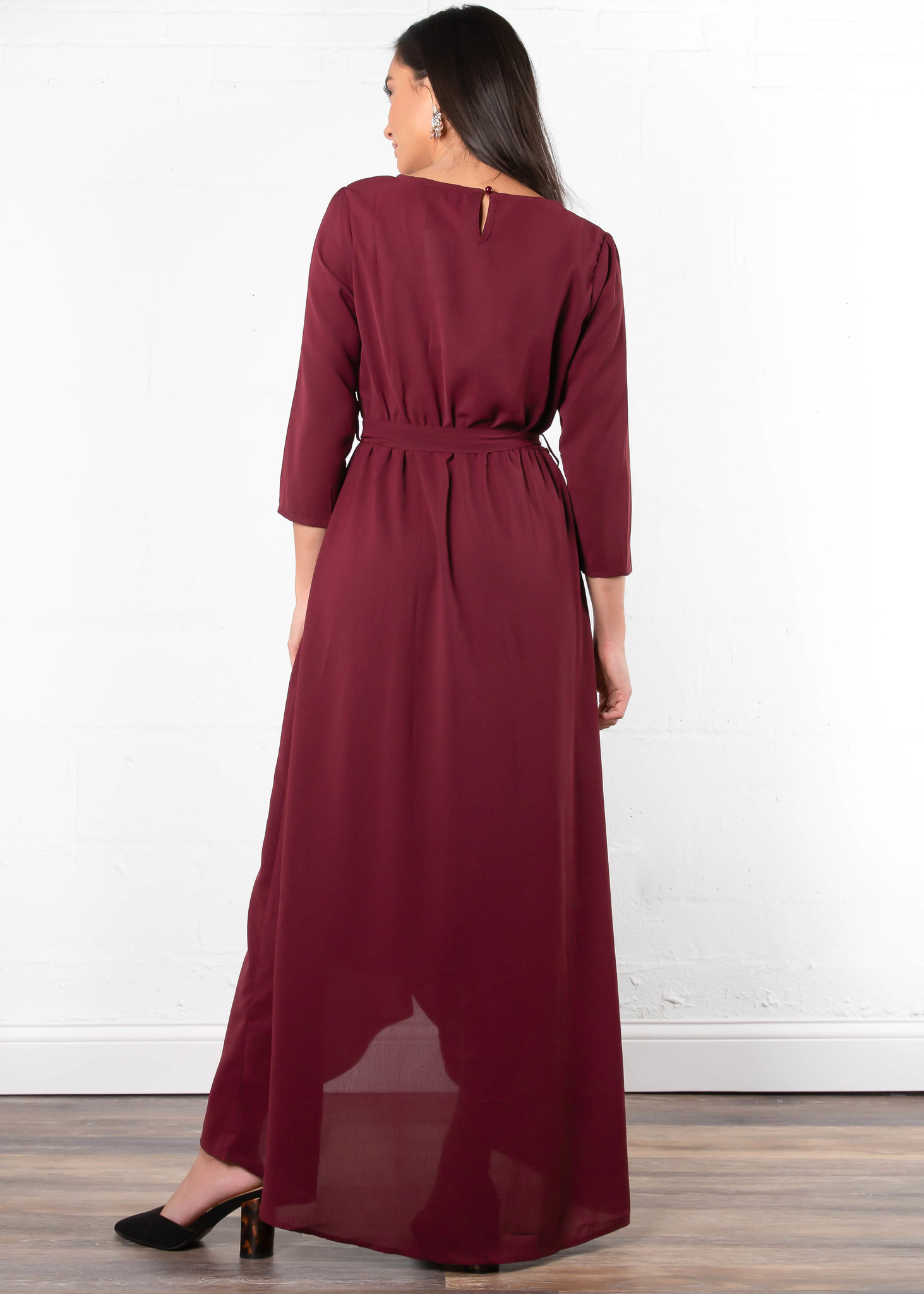 LIKE A LADY MAXI DRESS