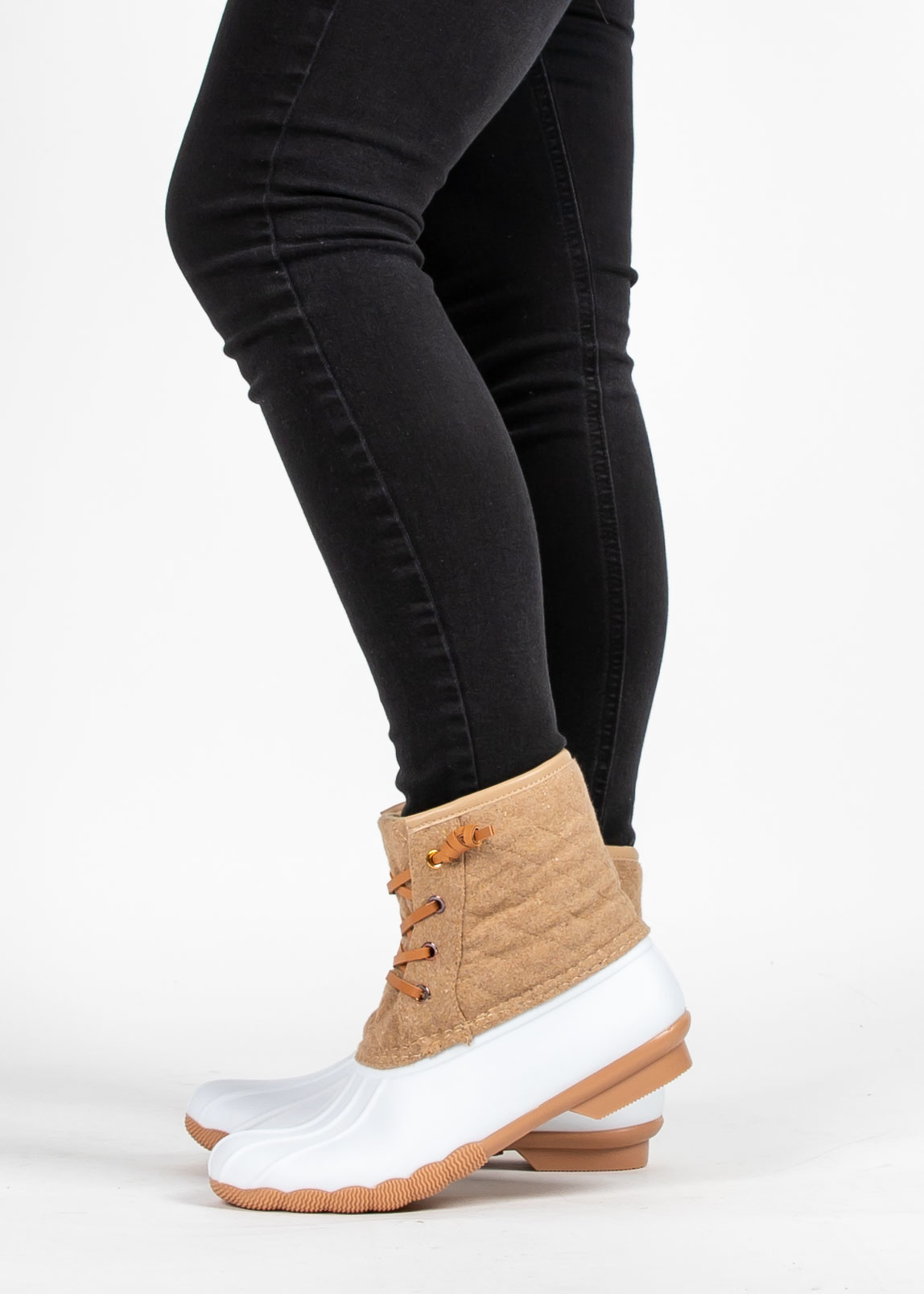 WELCOME THE WINTER DUCK BOOTS