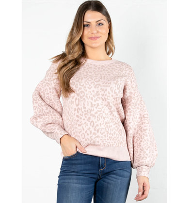 DARE TO BE BOLD LEOPARD SWEATER